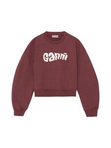 Ganni - Isoli Sweatshirt -collegepaita - 473 MERLOT | Stockmann