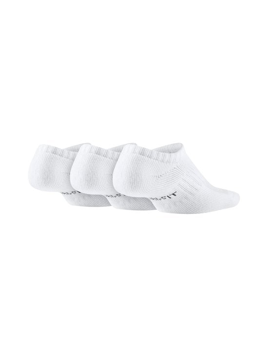 Nike - Kids Cushioned No-Show -sukat 3-pack - WHITE/BLACK | Stockmann - photo 2
