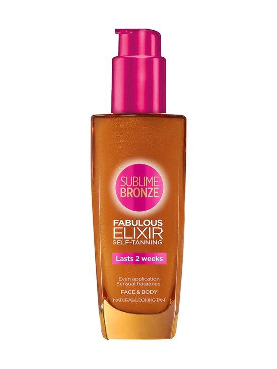 L'Oréal Paris - Sublime Bronze Fabulous Elixir Self-Tanning -itseruskettava 100 ml - null   Stockmann - photo 1