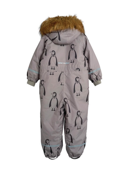 Mini Rodini - Kebnekaise Penguin Overall -toppahaalari - GREY | Stockmann - photo 2