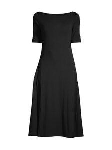Lauren Ralph Lauren - Munzie Elbow Sleeve Casual Dress -mekko - 001 BLACK | Stockmann