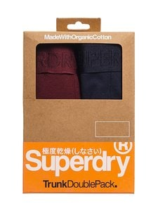 Superdry - Classic Trunk Double -bokserit - 4IS DEEP PORT/NAUTICAL NAVY | Stockmann