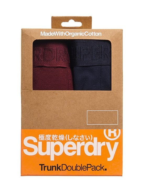 Superdry - Classic Trunk Double -bokserit - 4IS DEEP PORT/NAUTICAL NAVY   Stockmann - photo 1