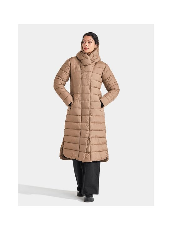 Didriksons - Stella Long Padded -toppatakki - 443 CAMEL | Stockmann - photo 6
