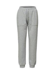 Selected - Slftasie Medium Waist Sweat Pant -housut - LIGHT GREY MELANGE | Stockmann