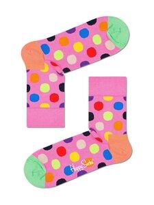 Happy Socks - Big Dot Half Crew -sukat - 3300-PINK | Stockmann