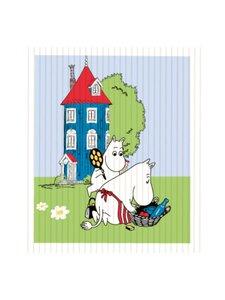 Moomin - Kesäloma-tiskirätti 18 x 20 cm - MULTICOLOURED | Stockmann