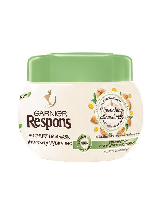 Garnier - Respons Nourishing Almond Milk Yoghurt -hiusnaamio 300 ml - NOCOL   Stockmann - photo 1