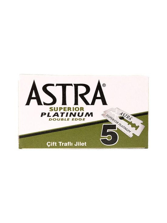 Natural Geisha - Astra Razor Blades -sheiverin terät 5 kpl - NOCOL   Stockmann - photo 1