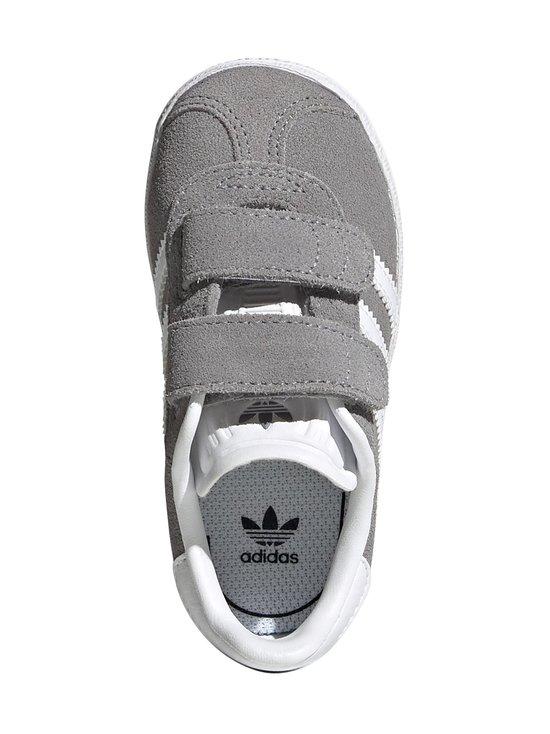adidas Originals - Gazelle CF I -mokkanahkatennarit - GRETHR/FTWWHT/GOLDMT | Stockmann - photo 3