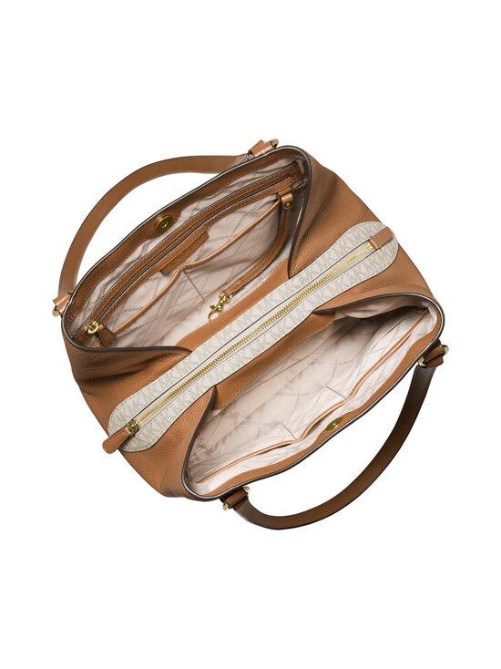Michael Michael Kors - Carrie Large Logo Shoulder Bag -laukku - 149 VANILLA/ACRN | Stockmann - photo 3