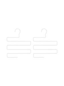 BEdesign - Lume Multi Hanger -vaateripustin 2 kpl - WHITE | Stockmann