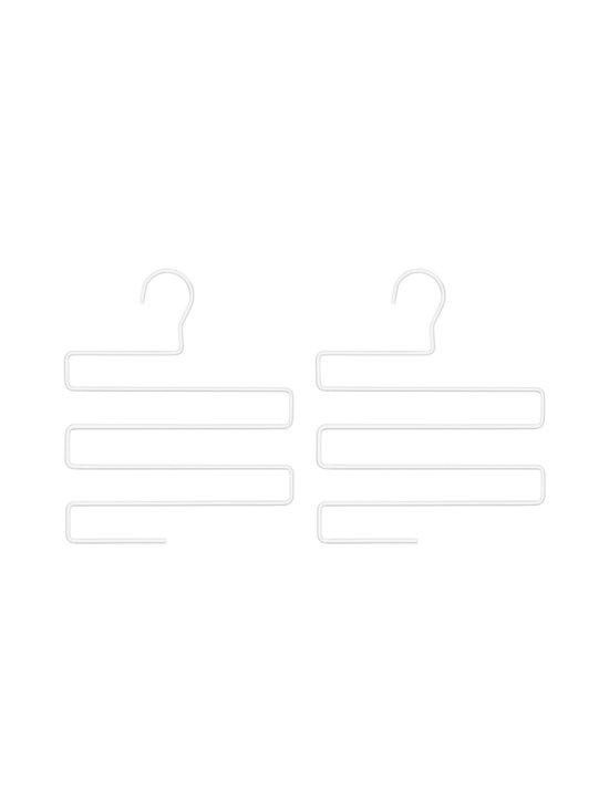 BEdesign - Lume Multi Hanger -vaateripustin 2 kpl - WHITE   Stockmann - photo 1
