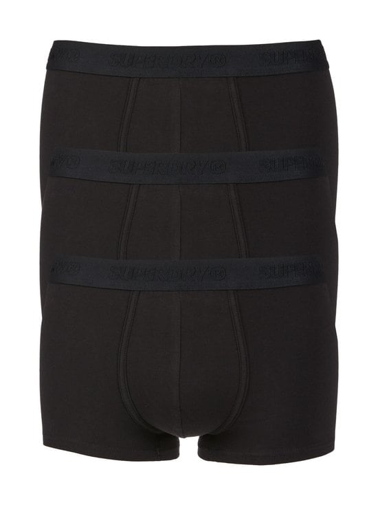 Superdry - Classic Trunk -bokserit 3-pack - I6W BLACK MULTIPACK   Stockmann - photo 1