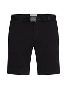 Calvin Klein Menswear - GARMENT DYE BELTED -shortsit - BEH CK BLACK | Stockmann