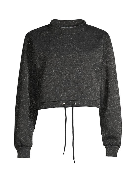 NA-KD - Glitter Sweater -paita - BLACK 0002 | Stockmann - photo 1