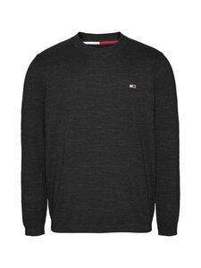 Tommy Jeans - Tjm Slub Grindle Sweater -neule - BDS BLACK | Stockmann