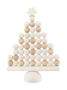 Aarikka - Joulukuusi-pöytäkoriste - U008 WHITE | Stockmann