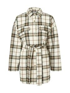 Noisy may - NmFlanny-paita - PRISTINE CHECKS:WITH FIR GREEN & BROWN CHECK | Stockmann