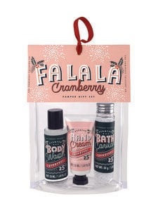 Somerset - Mini Pamper Gift Bag Set Fa La La (Cranberry) -lahjapakkaus - null | Stockmann