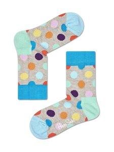 Happy Socks - Kids Big Dot -sukat - 1000-GREY | Stockmann