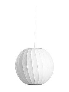 HAY - Nelson Ball Crisscross Bubble Pendant S -riippuvalaisin - WHITE | Stockmann