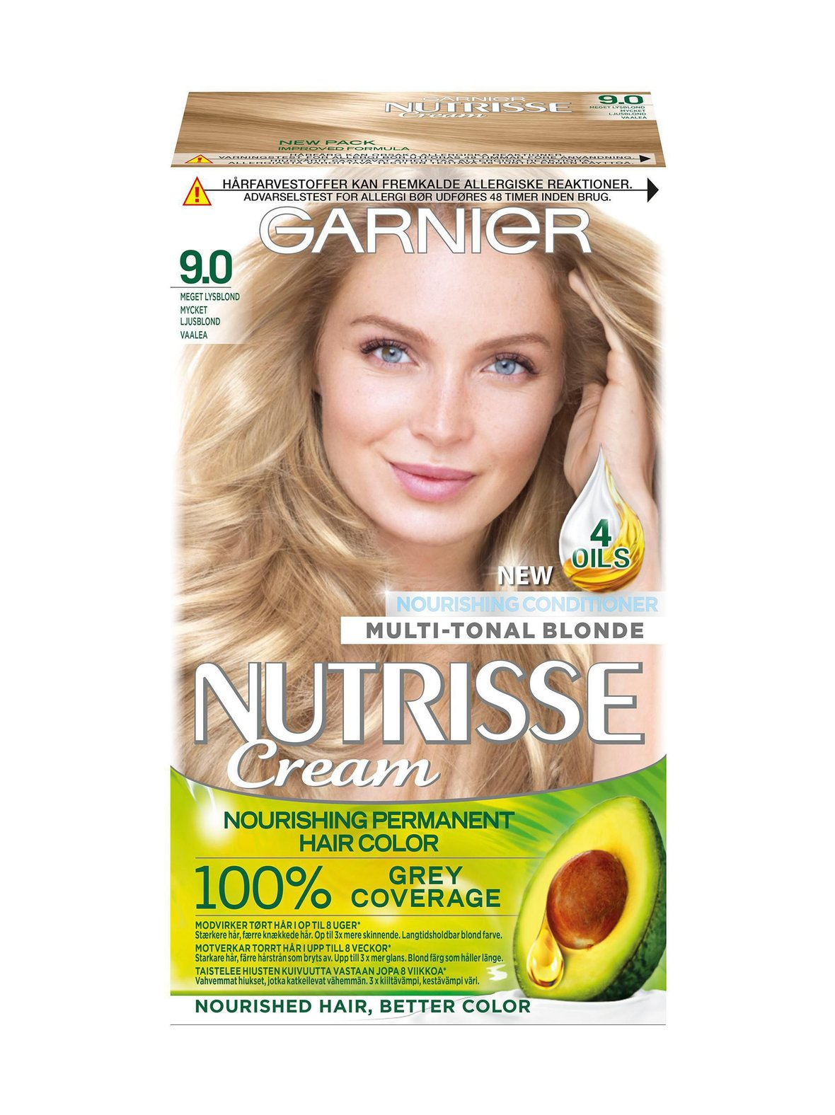 9 Vaalea Garnier Nutrisse Cream -kestoväri  1549b6178d