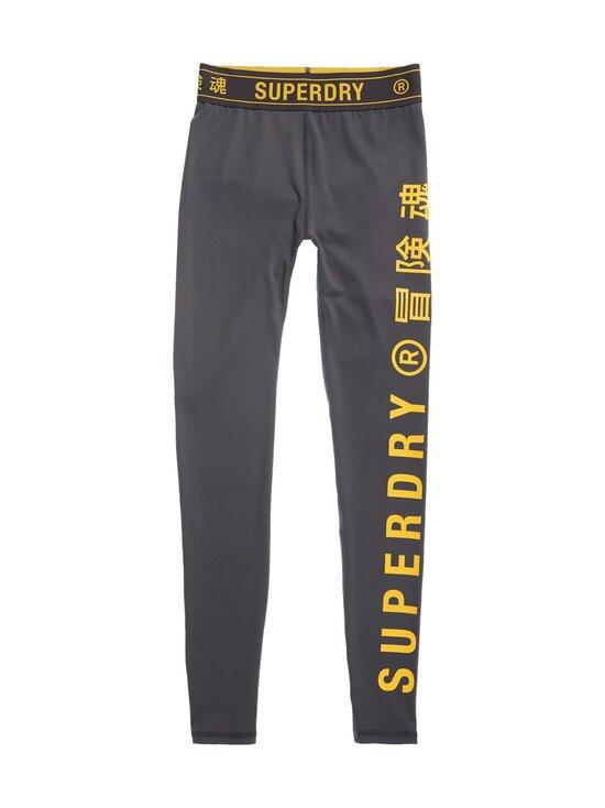 Superdry Sport - Training Elastic -leggingsit - PIJ EBONY | Stockmann - photo 1