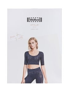 Wolford - Om Crop Top -pusero - 9069 BLACK/ASH | Stockmann