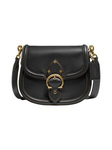 Coach - Beat Saddle -nahkalaukku - B4/BLACK | Stockmann
