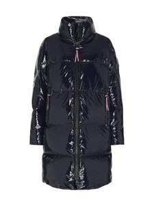Tommy Hilfiger - High Gloss Down Puffer Coat -untuvatakki - DW5 DESERT SKY | Stockmann