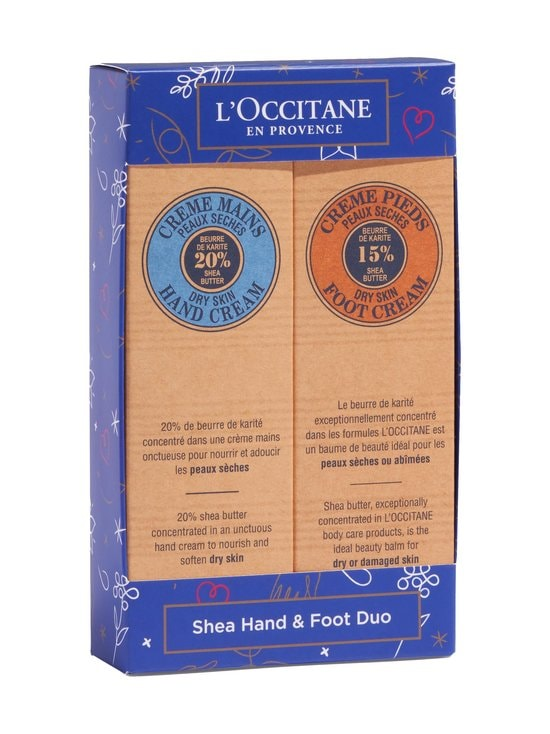 Loccitane - Shea Hand & Foot Duo -lahjapakkaus - NOCOL | Stockmann - photo 1