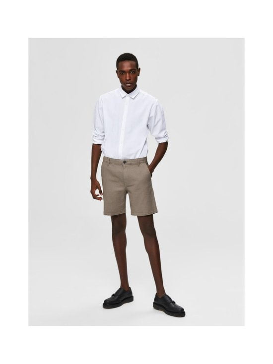 Selected - SlhStorm Flex -shortsit - DOVE DETAIL:MIX - SMOKED PEARL | Stockmann - photo 4