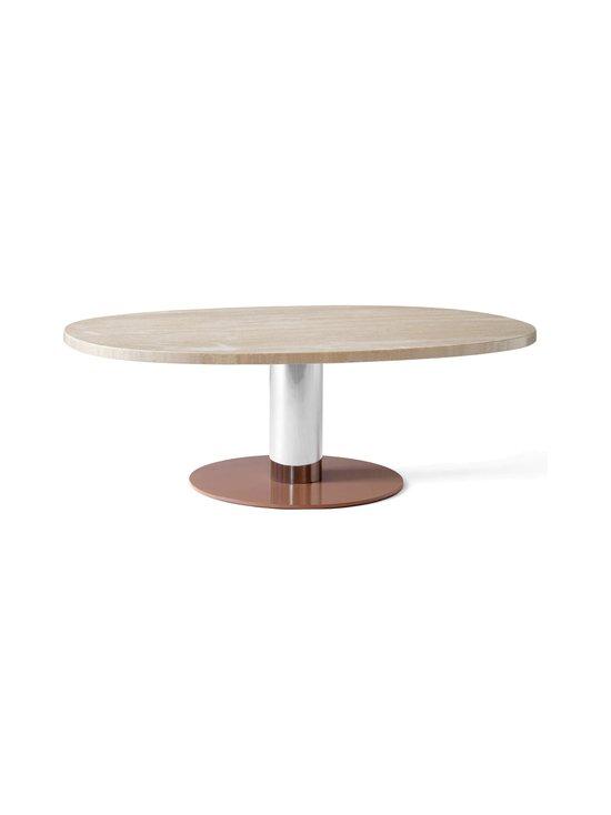 &tradition - Mezcla JH21 -pöytä 120 x 90 x 40 cm - TRAVERTINE / CROME / CLAY   Stockmann - photo 1