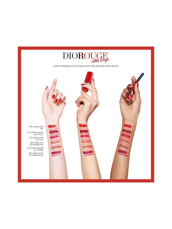 DIOR - Rouge Dior Ultra Rouge -huulipuna 3,2 g - 325 ULTRA TENDER | Stockmann - photo 3