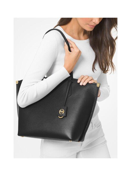 Michael Michael Kors - Jane Large Pebbled Leather Tote Bag -nahkalaukku - 001 BLACK   Stockmann - photo 4