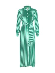 Tommy Hilfiger - LONG SHIRT DRESS -mekko - 0CJ BANKER STP / PRIMARY GREEN | Stockmann
