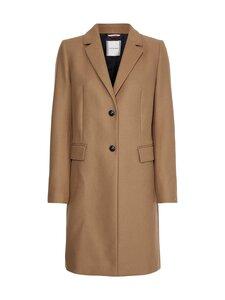 Tommy Hilfiger - TH Ess Wool Blend Classic Coat -takki - GW8 COUNTRYSIDE KHAKI   Stockmann