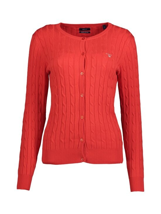 GANT - Neuletakki - 620 BRIGHT RED | Stockmann - photo 1