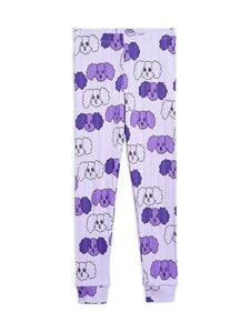 Mini Rodini - Fluffy Dog -leggingsit - PURPLE | Stockmann