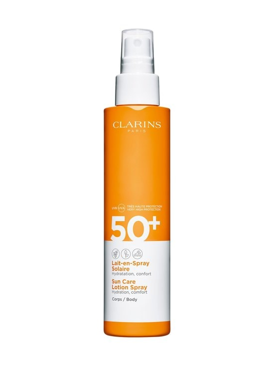 Clarins - Hydrating Sun Care Lotion Spray for Body SPF 50+ -aurinkosuojasuihke 150 ml - NOCOL   Stockmann - photo 1