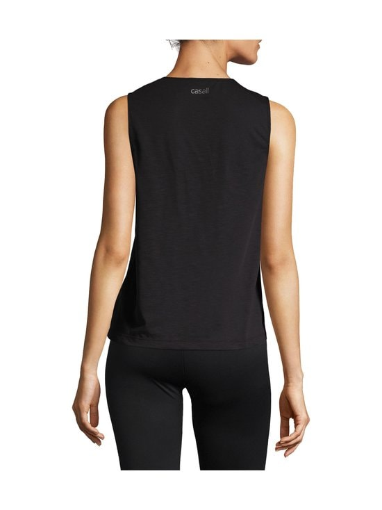Casall - Essential Texture Tank -toppi - 901 BLACK | Stockmann - photo 2