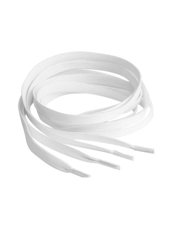 Springyard - Flat Wax 7.0 -kengännauhat - WHITE   Stockmann - photo 1