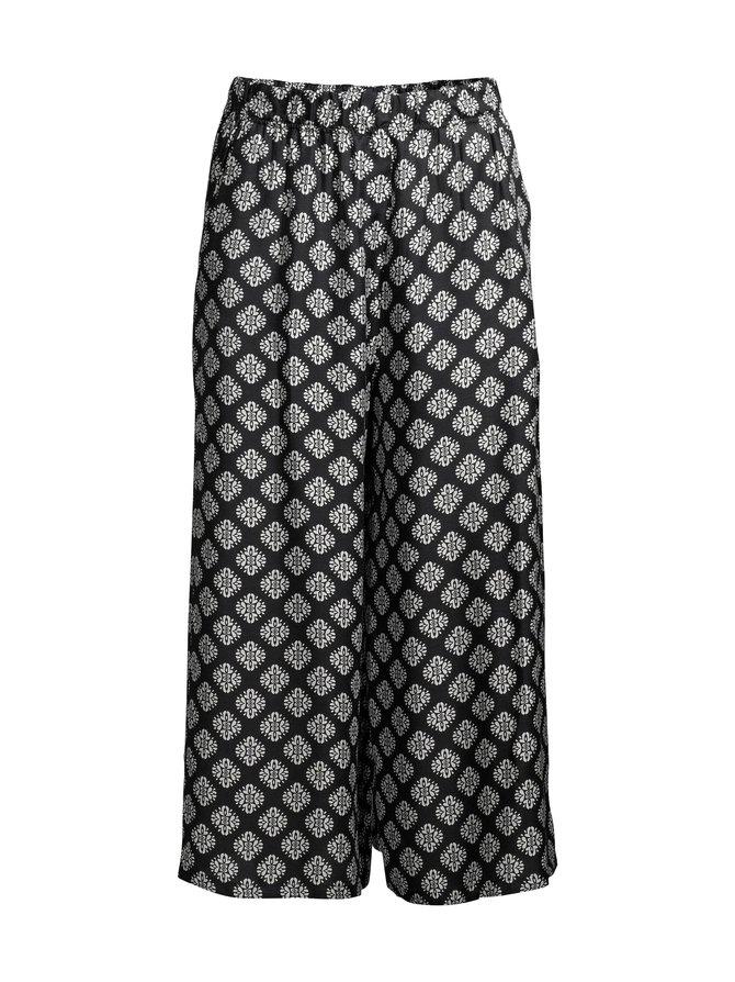 Wide Leg Culotte -housut