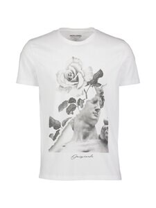 Jack & Jones - JorFaster Tee -paita - WHITE | Stockmann