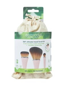 Eco Tools - ECO Travel Brush Kit -matkasivellinsetti, 3 osaa | Stockmann
