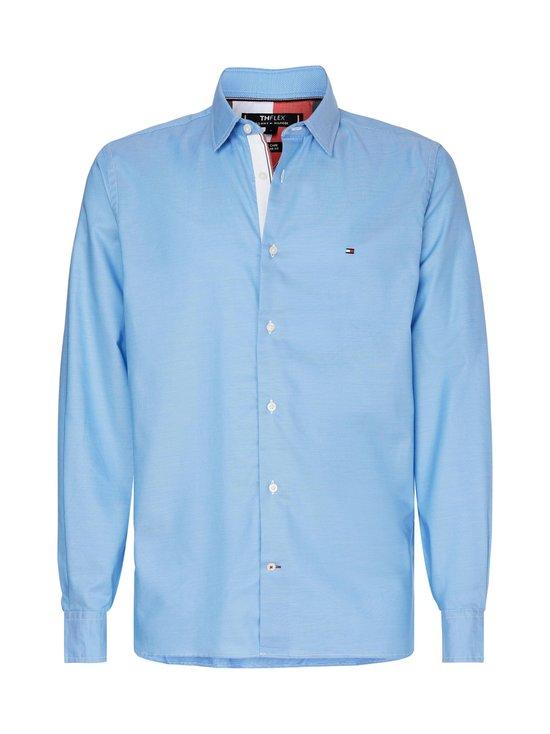Tommy Hilfiger - TH Flex Two Tone Shirt -kauluspaita - C1S CALM BLUE   Stockmann - photo 1