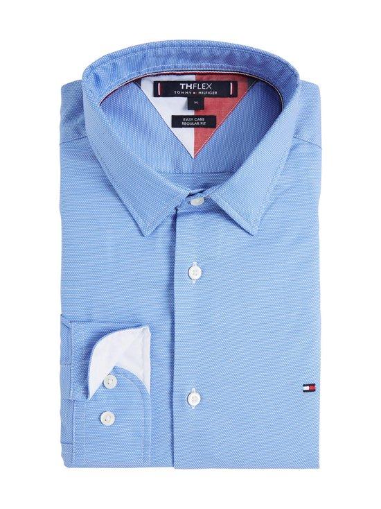 Tommy Hilfiger - TH Flex Two Tone Shirt -kauluspaita - C1S CALM BLUE   Stockmann - photo 2