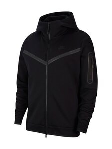 Nike - Tech Fleece -huppari - 010 BLACK/BLACK | Stockmann