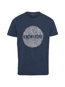 Knowledge Cotton Apparel - Alder-paita - 1257 INSIGNA BLUE MELANGE   Stockmann